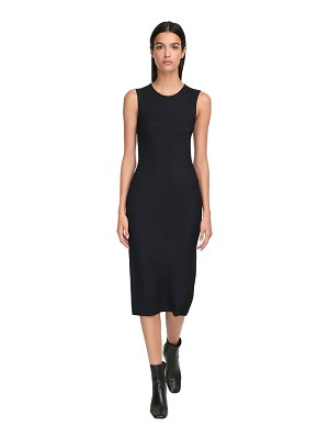 Jil Sander Fitted stretch jersey midi dress