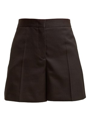 Jil Sander Gaetano High Waisted Wool Shorts