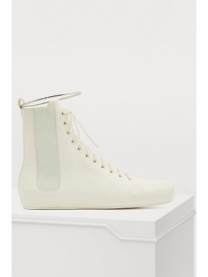 Jil Sander Lace-up ankle boots