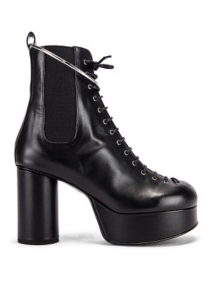 Jil Sander lace up ankle boots