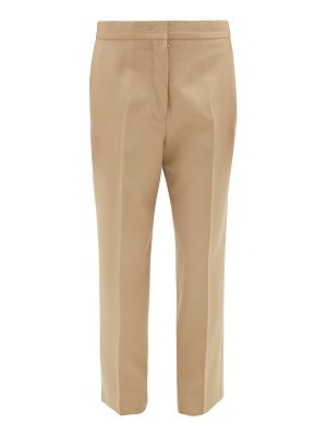 Jil Sander lang cropped straight-leg wool trousers