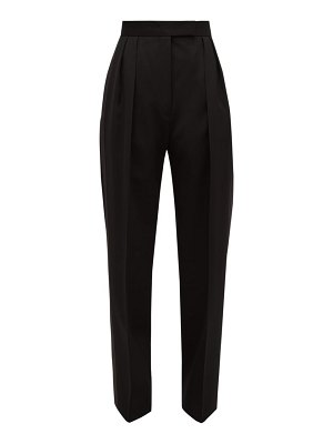 Jil Sander p.m. pleated straight-leg wool trousers