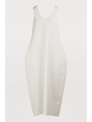 Jil Sander Silk blend maxi dress