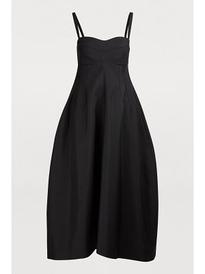 Jil Sander Silk-blend maxi dress