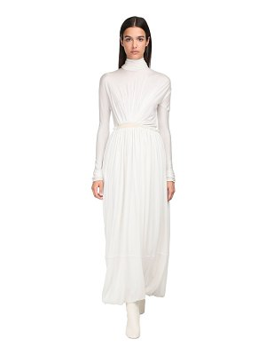Jil Sander Silk jersey long dress