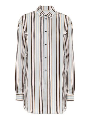 Jil Sander striped satin shirt