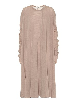 Jil Sander wool-blend dress