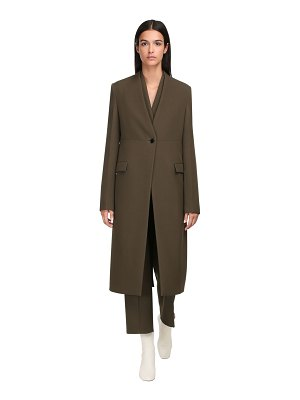 Jil Sander Wool single breasted coat
