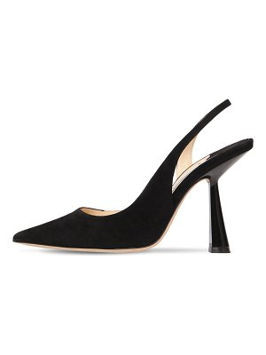 Jimmy Choo 65mm fetto sling back suede pumps