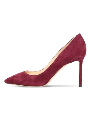 Jimmy Choo 85mm romy suede pumps