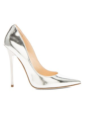 Jimmy Choo Anouk 120 Mirror Leather Pumps