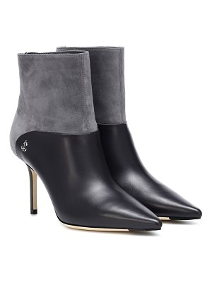 Jimmy Choo beyla 85 leather ankle boots