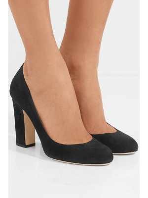 Jimmy Choo billie 100 suede pumps