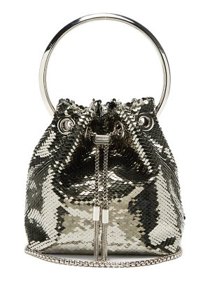 Jimmy Choo bonbon sequinned clutch bag