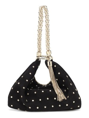 Jimmy Choo callie embellished suede clutch