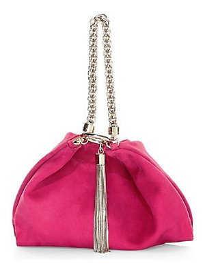 Jimmy Choo callie suede clutch