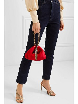 Jimmy Choo callie suede shoulder bag