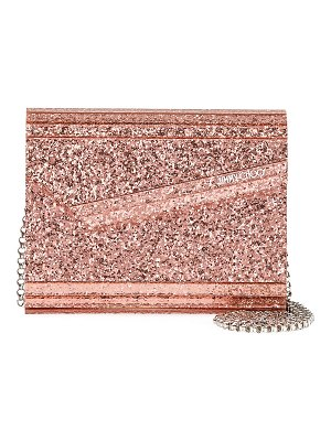 Jimmy Choo Candy Galactica Glittered Acrylic Clutch Bag