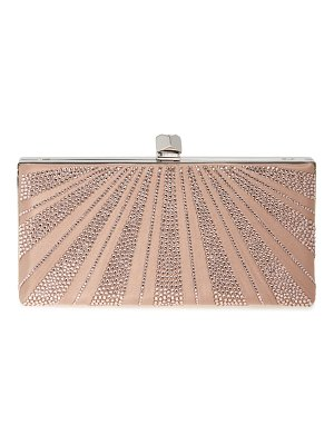 Jimmy Choo celeste crystal hotfix clutch