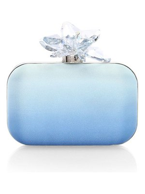 Jimmy Choo cloud degradé satin clutch