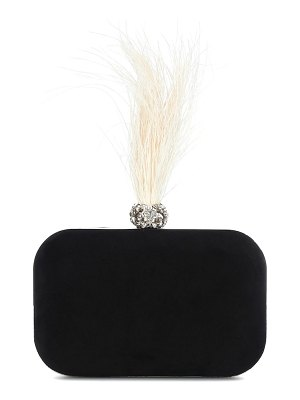 Jimmy Choo cloud embellished velvet clutch
