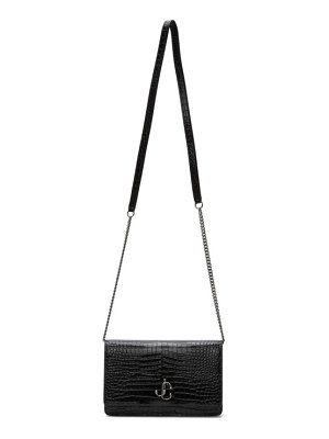 Jimmy Choo croc palace shoulder bag