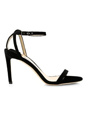 Jimmy Choo cutout d'orsay suede sandals