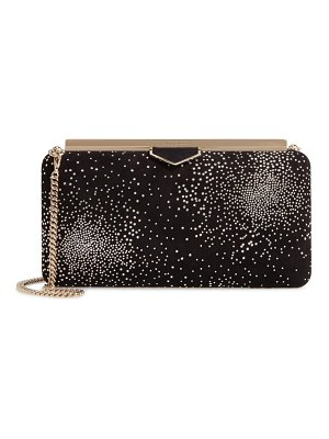 Jimmy Choo ellipse constellation embellished clutch
