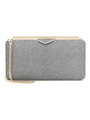 Jimmy Choo ellipse metallic clutch