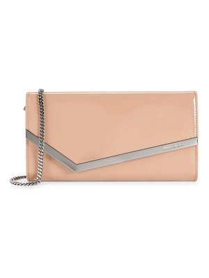 Jimmy Choo emmie patent leather clutch