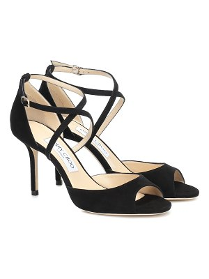 Jimmy Choo emsy 85 suede sandals