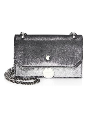 Jimmy Choo Finley Metallic Velvet Crossbody Clutch