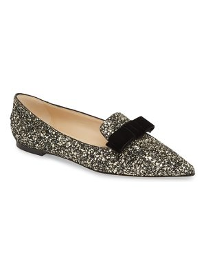 Jimmy Choo gala bow flat