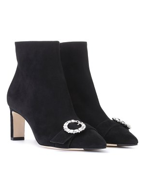 Jimmy Choo Hanover 65 suede ankle boots