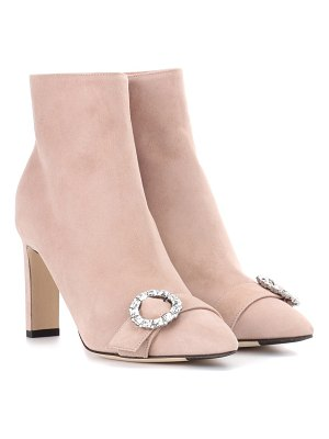 Jimmy Choo Hanover 85 suede ankle boots