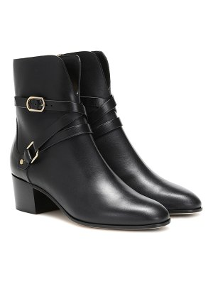 Jimmy Choo harker 45 leather ankle boots