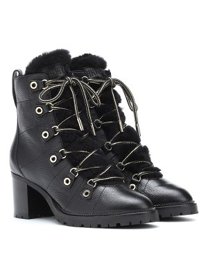 Jimmy Choo Hillary 65 leather ankle boots