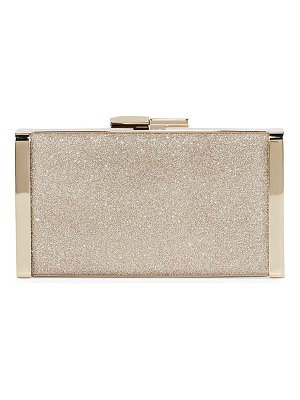 Jimmy Choo J Box Glittered Clutch Bag