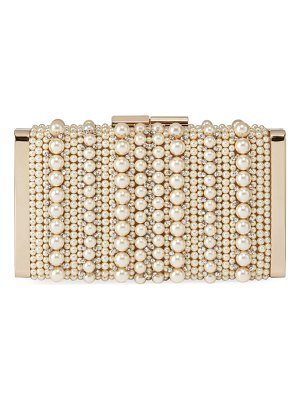Jimmy Choo J Box Pearly Box Clutch Bag