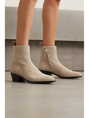 Jimmy Choo kaia gerber 40 suede ankle boots