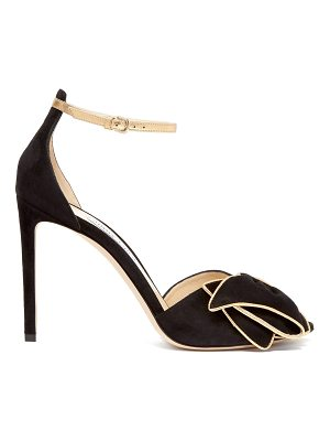Jimmy Choo Karlotta 100 suede sandals