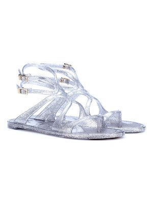 Jimmy Choo Lance Jelly glitter sandals