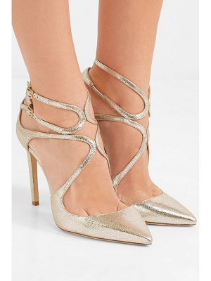 d886fa4bfaaf Christian Louboutin Corneille 100 Cracked Leather Pumps in Gray ...