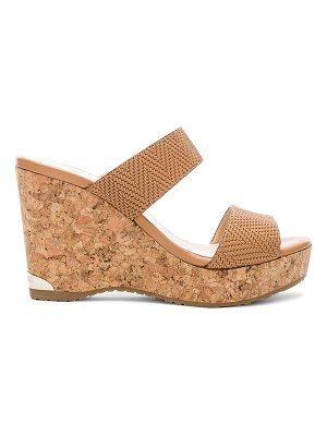 Jimmy Choo Parker 100 Embossed Leather Wedges
