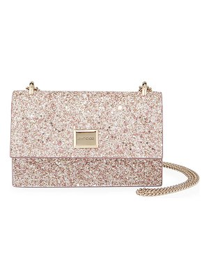 Jimmy Choo Leni Painted Glitter Clutch Bag