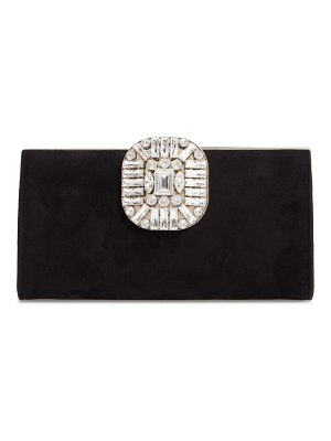 Jimmy Choo leonis suede clutch