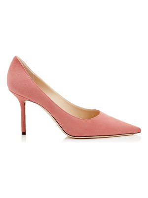 Jimmy Choo LOVE 85 Rosewood Suede Pointy Toe Pumps