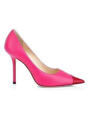 Jimmy Choo love colorblock leather pumps