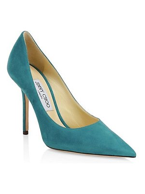 Jimmy Choo love sue pointed leather pumps