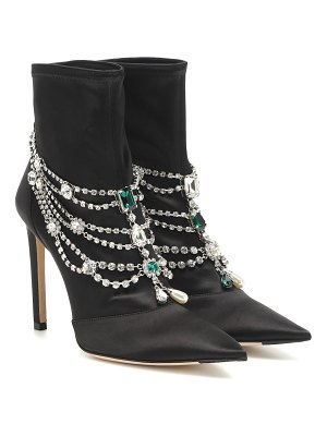 Jimmy Choo lyja satin ankle boots
